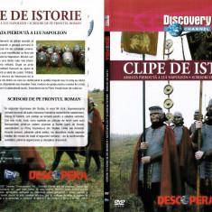 Clipe de istorie, DVD, Romana, discovery channel