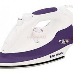 Fier de calcat Taurus PTSI 2200, Talpa Inox, 2200 W, 0.3l (Alb-Mov)