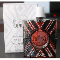 Parfum Original Yves Saint Laurent Black Opium Pure Illusion  EDP 90 ml tester, Yves Saint Laurent