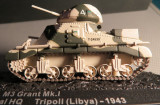 M3 grant mkI tanc colectia altaya 1/72  M3 Grant Mk I   Tripoli (Libia) 1943, 1:72