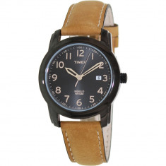 Ceas Timex barbatesc Elevated Classics T2P133 negru Leather Analog Quartz - Ceas barbatesc