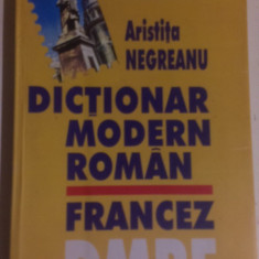 DICTIONAR MODERN ROMAN-FRANCEZ. all