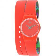 Ceas Swatch dama Originals LO108 roz Silicone Swiss Quartz Fashion