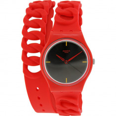 Ceas Swatch dama Originals GR164 negru Silicone Swiss Quartz Fashion