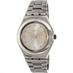 Ceas Swatch dama Irony YLS197G argintiu Stainless-Steel Swiss Quartz