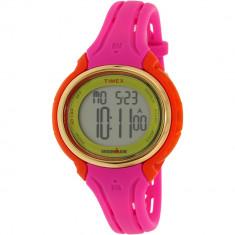 Ceas Timex dama Ironman TW5M02800 roz Silicone Quartz - Ceas dama