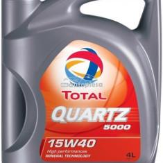 Ulei motor TOTAL Quartz 5000 Energy 15W40 4L 166482
