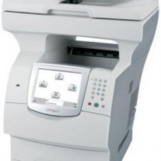 Multifunctional Refurbished Lexmark X644e, laser alb-negru, Fax, A4, 21 ppm, Duplex, ADF, Retea - Multifunctionala
