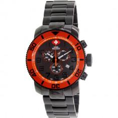 Ceas Swiss Precimax barbatesc Verto Pro SP13034 negru Stainless-Steel Swiss Chronograph