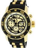 Ceas barbatesc Invicta Pro Diver 25709 auriu Silicone Japanese Chronograph 25709
