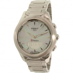 Ceas Tissot dama T-Touch T075.220.11.101.00 argintiu Stainless-Steel Swiss Quartz