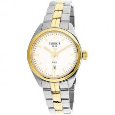 Ceas Tissot dama T101.210.22.031.00 auriu Stainless-Steel Analog Quartz Fashion