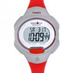 Ceas dama Timex Ironman T5K741 rosu Resin Quartz T5K741