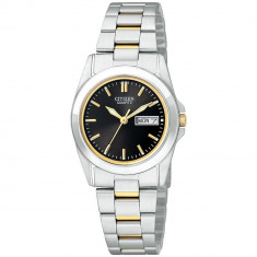 Ceas Citizen dama Eco-Drive EQ0564-59E negru Stainless-Steel Quartz Dress