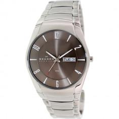 Ceas Skagen barbatesc negru Label 531XLSXM1 argintiu Stainless-Steel Quartz - Ceas barbatesc