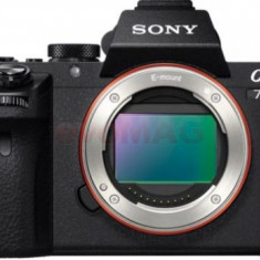 Aparat Foto Mirrorles Sony Alpha 7 II, Body, 24.3 MP, Filmare Full HD (Negru)