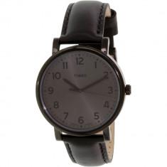 Ceas Timex barbatesc Easy Reader T2N346 negru Leather Quartz - Ceas barbatesc
