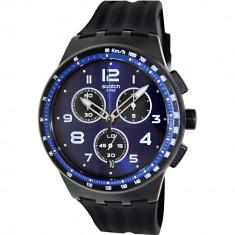 Ceas Swatch barbatesc Originals SUSB402 Blue Plastic Swiss Quartz