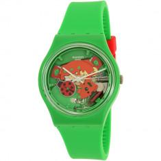Ceas Swatch dama Gent GG220 verde Silicone Swiss Quartz