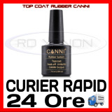 TOP COAT UV RUBBER CANNI 7.3ML - MANICHIURA UNGHII FALSE GEL UV FRENCH