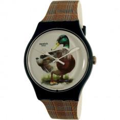 Ceas Swatch barbatesc Magies DHiver SUON118 multicolor Silicone Swiss Quartz