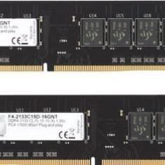 Memorii G.SKILL NT Series, DDR4, 2x8GB, 2133 MHz, CL 15 - Memorie RAM