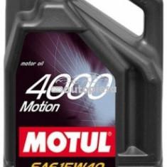 Ulei motor Motul 4000 Motion 15W40 5L 4000 MOTION 15W40 5L