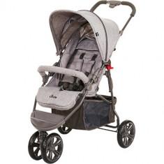Carucior Treviso 3 Woven Grey 2018 - Carucior copii 2 in 1 ABC Design