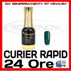 OJA SEMIPERMANENTA (PERMANENTA) DEEP GREEN #1117 VENALISA - MANICHIURA UV
