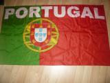Steag al Nationalei Fotbal a Portugaliei Campioana Europeana -pt.suporteri