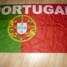 Steag al Nationalei Fotbal a Portugaliei Campioana Europeana -pt.suporteri - Steag fotbal