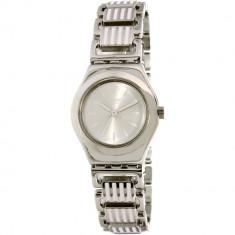 Ceas Swatch dama Irony YSS304G argintiu Stainless-Steel Swiss Quartz