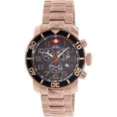 Ceas Swiss Precimax barbatesc Verto Pro SP13040 auriu Stainless-Steel Swiss Chronograph