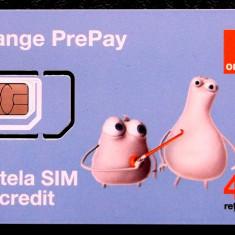 ROMANIA CARTELA SIM Orange PrePay neutilizata - PENTRU COLECTIONARI ** - Cartela GSM