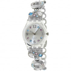 Ceas Swatch dama Originals LK292G argintiu Stainless-Steel Swiss Quartz - Ceas dama