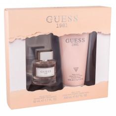 Apa de toaleta GUESS Guess 1981 Dama 50ML Edt 50ml + Lotiune de corp 200ml - Parfum femeie