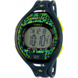 Ceas Timex barbatesc Ironman TW5M07800 albastru Rubber Analog Quartz