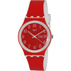 Ceas Swatch dama Originals GW705 rosu Silicone Swiss Quartz - Ceas dama