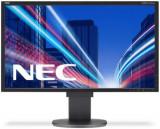 Monitor TN LED NEC MultiSync 22inch EA223WM, DVI, VGA, DisplayPort, USB, 5 ms, Boxe, Pivot (Negru), 22 inch