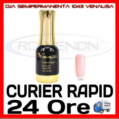 OJA SEMIPERMANENTA (PERMANENTA) CLARET NUDE #1043 VENALISA - MANICHIURA UV