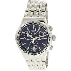 Ceas barbatesc Swatch Dress My Wrist argintiu Stainless-Steel Swiss Quartz YVS445G