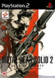 Metal Gear Solid 2 Sons of liberty -  PS2 [Second hand], Actiune, 16+, Single player