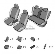 Set huse scaune SKODA SUPERB 2008 - prezent UMBRELLA 45975 - Husa scaun auto