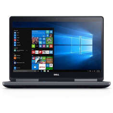 Laptop Dell Precision 7720 17.3 inch FHD Intel Core i7-7920HQ 16GB DDR4 256GB SSD nVidia Quadro P3000 6GB Windows 10 Pro 3Yr NBD - Laptop Asus