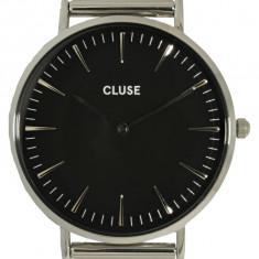 Ceas Cluse dama La Boheme Mesh CL18106 argintiu Stainless-Steel Quartz Fashion - Ceas dama