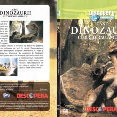 Când dinozaurii cutreierau America, DVD, Romana, discovery channel