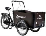 Bicicleta Pegas Cargo Adult 26x20, Roti 26inch, 3 Viteze (Negru)