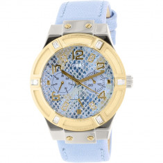 Ceas Guess dama U0289L2 albastru Leather Quartz Fashion - Ceas dama