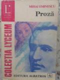 Proza - Mihai Eminescu ,415468