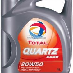 Ulei motor TOTAL Quartz 5000 Energy 20W50 4L 166462